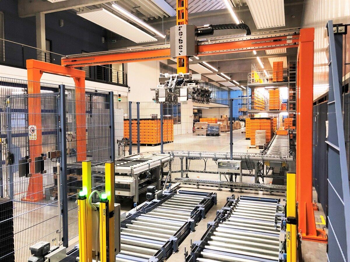 Linear gantry robots – Genix LP-150